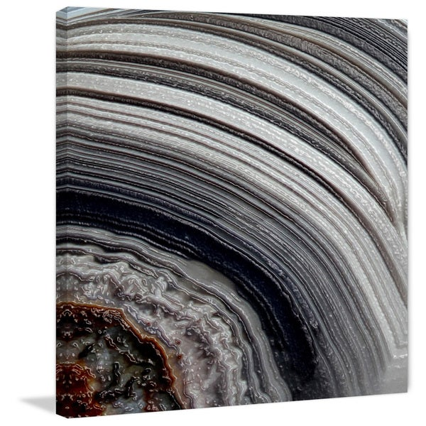 Marmont Hill 'Age Rings' Painting Print on Canvas