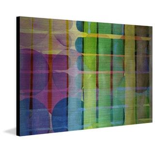 Marmont Hill 'Degeneration' Painting Print on Brushed Aluminum