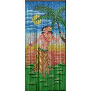 Handmade Dancing Hula Girl Curtain (Vietnam)