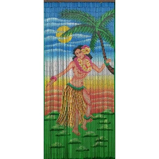 Dancing Hula Girl Curtain (Vietnam)