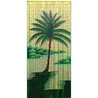 Halcyon Palm Tree Curtain (Vietnam)