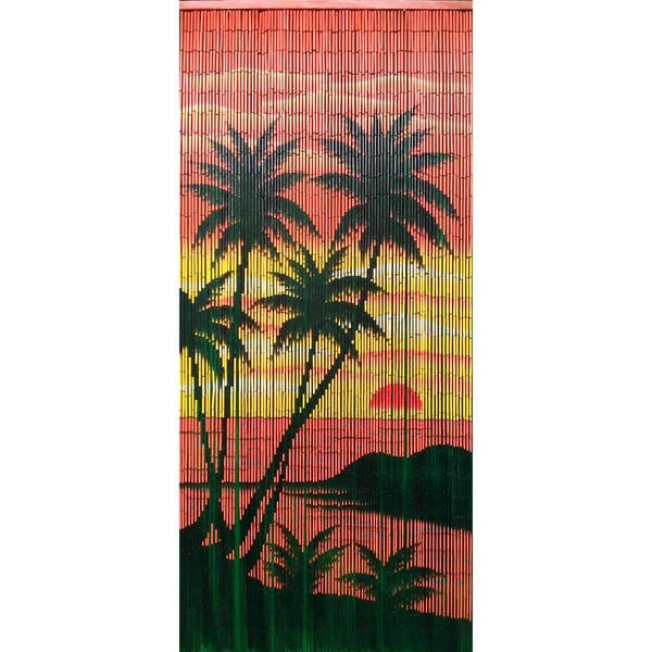 Handmade Diamond Head Palm Curtain (Vietnam)