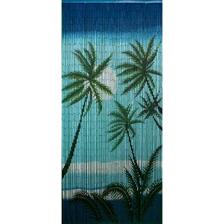 Handmade Carribean Palms Curtain (Vietnam)