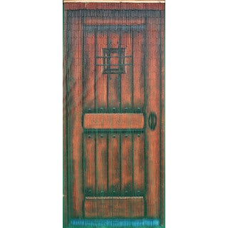 Brown Wood Door 125 Strands Curtain (Vietnam)