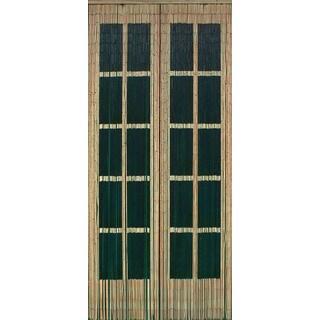 Double Doors with Black Windows 125 Strands Curtain (Vietnam)