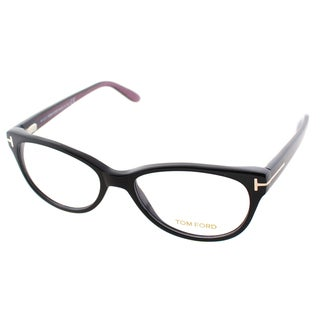 Tom Ford Women's FT 5292 005 Black Plastic Cat-eye Eyeglasses