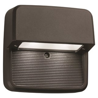 Lithonia Lighting OLSS DDB M6 Outdoor Black Bronze LED Step Light Square