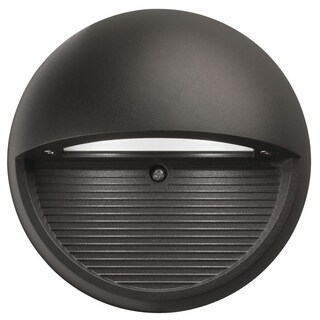 Lithonia Lighting OLSR DDB M6 Outdoor Black Bronze Round LED Step Light