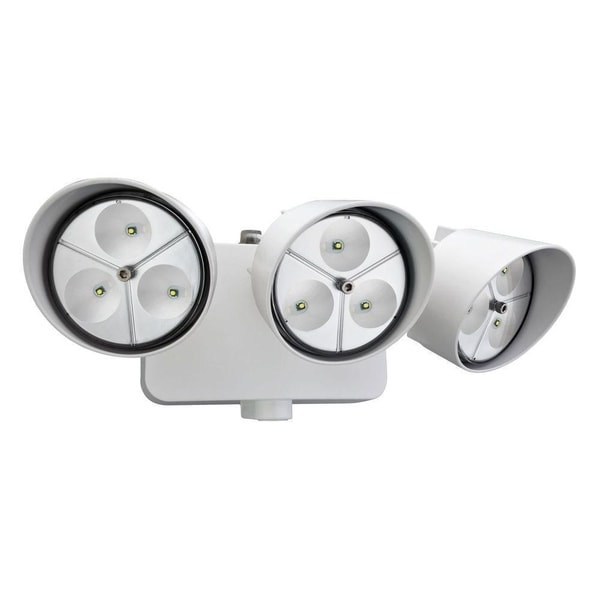 Shop Lithonia Lighting OFLR 9LN 120 P WH M2 LED Outdoor 3