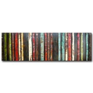 Color Study II Raised Metal Wall Art