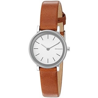 Skagen Women's SKW2440 'Hald' Brown Leather Watch