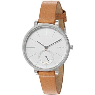 Skagen Women's SKW2450 'Hagen' Brown Leather Watch