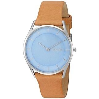 Skagen Women's SKW2451 'Holst' Brown Leather Watch