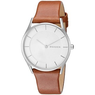 Skagen Women's SKW2453 'Holst' Brown Leather Watch