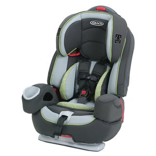Graco Nautilus 80 Elite 3-in-1 Harness Booster Car Seat in Go Green