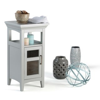 WYNDENHALL Hayes Grey Floor Storage Cabinet