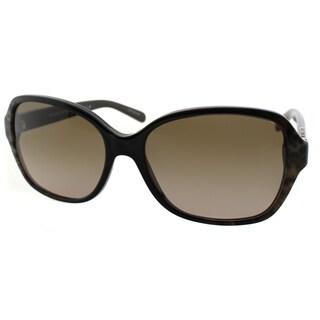 Michael Kors Women's Cuiaba Brown Plastic Snakeskin Square Sunglasses
