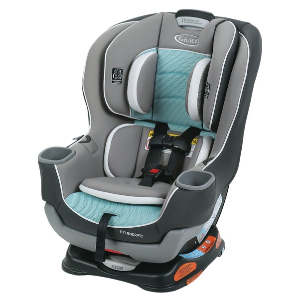 graco extend2fit convertible car seat in spire free shipping today 18801030. Black Bedroom Furniture Sets. Home Design Ideas