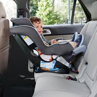 Graco Extend2Fit Convertible Car Seat in Spire