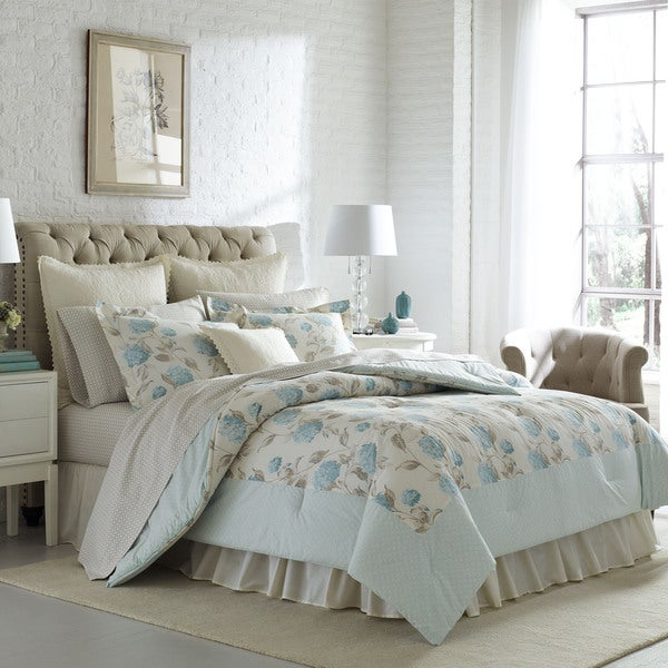 Laura Ashley Bayleigh Cotton Comforter Set