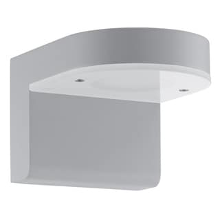 Eglo Jalon Silver, White Glass, Metal LED Outdoor Wall Sconce