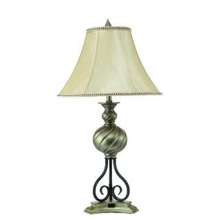 Silver Metal Table Lamp (2 Lamps Per Box)