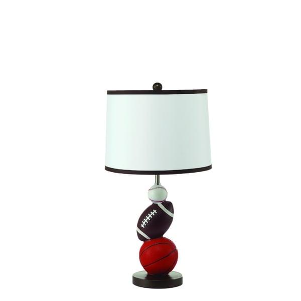 Sport Themed Ceramic Table Lamp 2 Lamps Per Box