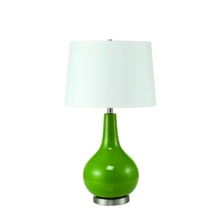 Round Green Table Lamp (2 Lamps Per Box)