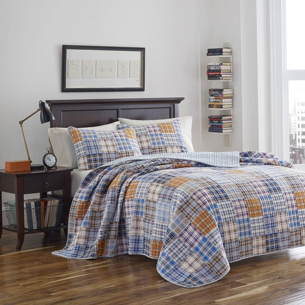 Poppy and Fritz Brian Reversible Cotton Quilt Set