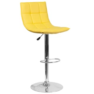 Quilted Vinyl Barstool