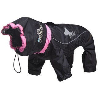 Helios Weather-King Blue/Red/Black Polyester Ultimate Windproof Full-bodied Pet Jacket (2 options available)