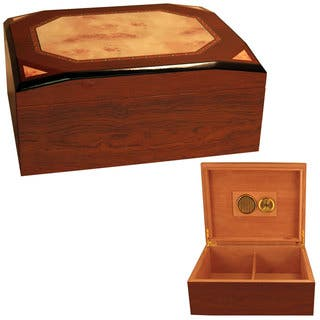 Cuban Crafters Diamond Cigar Box Humidors|https://ak1.ostkcdn.com/images/products/11908746/P18801266.jpg?impolicy=medium