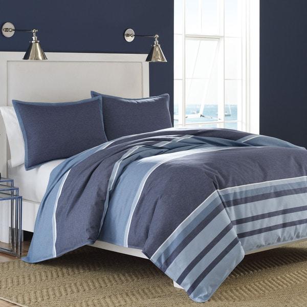 Nautica Broadwater Cotton Duvet Cover Set