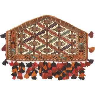 eCarpetGallery Shiravan Bokhara Multicolor Wool Hand-knotted Rug (2'1 x 3'8)
