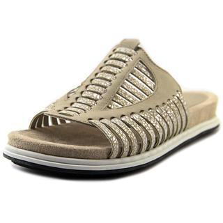 Naya Women's Kicker Tan Leather Sandals