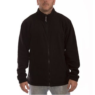 Tingley Men's Black Fleece Soft Shell Jacket