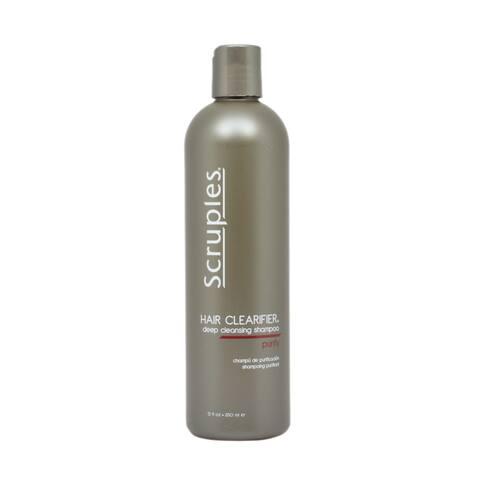 Scruples Hair Clarifier 12-ounce Deep Cleansing Shampoo
