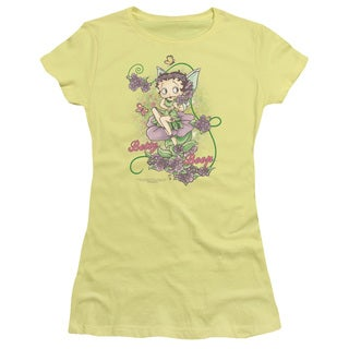 Boop/Flower Vine Fairy Junior Sheer in Banana