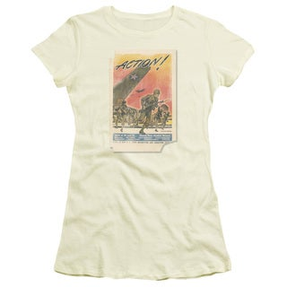 Army/Action Poster Junior Sheer in Cream/Ivory