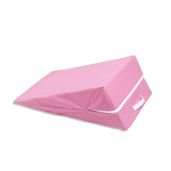 Shop Hot Pink Kids Wedge Lounge Cushion Free Shipping