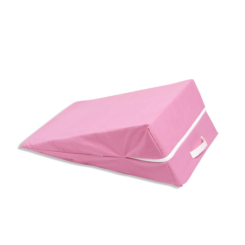 Hot Pink Kids' Wedge Lounge Cushion (Kids' Wedge Cushion)...