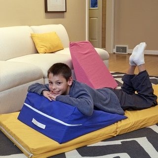 Royal Blue Kids' Wedge Lounge Cushion