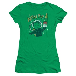 Astro Pop/Astro Boy Junior Sheer in Kelly Green