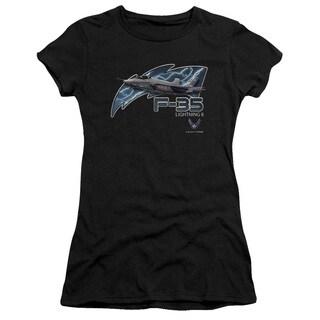Air Force/F35 Junior Sheer in Black