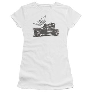 Aerosmith/Pump Junior Sheer in White in White