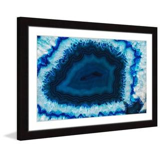 Marmont Hill 'Blue Anger' Framed Art Print
