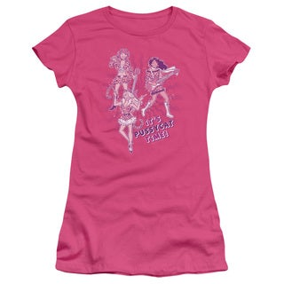 Archie Comics/Its Pussycat Time Junior Sheer in Hot Pink