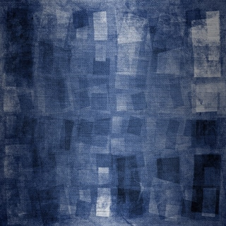 Marmont Hill 'Searching for Blue' Painting Print on Brushed Aluminum