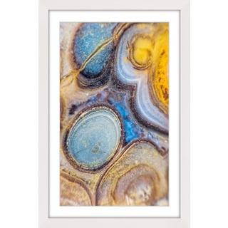 Marmont Hill 'Geode Cells' Framed Art Print
