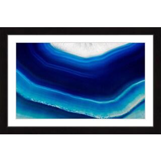 Marmont Hill 'Cool Blue Flow' Framed Art Print